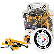 Team Golf Pittsburgh Steelers 175 Count Golf Tee Jar