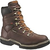 "Wolverine Men's Buccaneer 8"" Waterproof Steel Toe Work Boots"