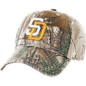 '47 Men's San Diego Padres Realtree Camo Clean Up Adjustable Hat