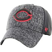 '47 Men's Cincinnati Reds Zonda MVP Black Adjustable Hat