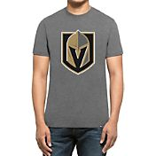 '47 Men's Vegas Golden Knights Logo Grey T-Shirt