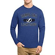 '47 Men's Tampa Bay Lightning Club Royal Long Sleeve T-Shirt