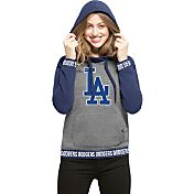 '47 Women's Los Angeles Dodgers Grey Encore Pullover Hoodie