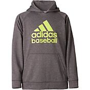 adidas Boys' Triple Stripe Performance Hoodie
