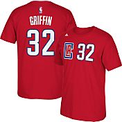 adidas Men's Los Angeles Clippers Blake Griffin #32 Red T-Shirt