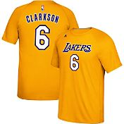 adidas Men's Los Angeles Lakers Jordan Clarkson #6 climalite Gold T-Shirt