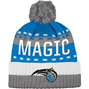 adidas Men's Orlando Magic Cuffed Pom Knit Hat