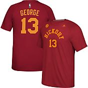 adidas Men's Indiana Pacers Paul George #13 climalite Burgundy T-Shirt