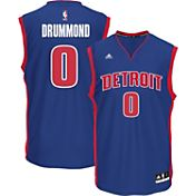adidas Men's Detroit Pistons Andre Drummond #0 Road Royal Replica Jersey