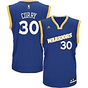 adidas Men's Golden State Warriors Steph Curry #30 Alternate Royal Replica Jersey
