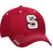 adidas Men's NC State Wolfpack Red Sideline Coaches Structured Flex-Fitted Hat