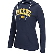 adidas Women's Indiana Pacers Big Arch Navy Fleece Crewdie