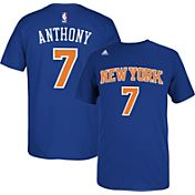 adidas Youth New York Knicks Carmelo Anthony #7 Royal Performance T-Shirt