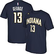 adidas Youth Indiana Pacers Paul George #13 Navy Performance T-Shirt