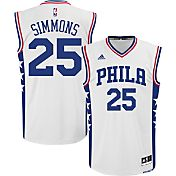 adidas Youth Philadelphia 76ers Ben Simmons #25 Home White Replica Jersey