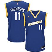 adidas Youth Golden State Warriors Klay Thompson #11 Alternate Replica Jersey