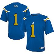 adidas Youth UCLA Bruins #1 True Blue Replica Football Jersey