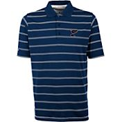Antigua Men's St. Louis Blues Deluxe Royal Blue Polo Shirt