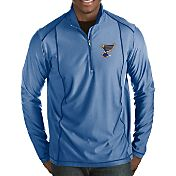 Antigua Men's St. Louis Blues Tempo Half-Zip Pullover Shirt