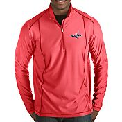 Antigua Men's Washington Capitals Tempo Half-Zip Pullover Shirt
