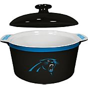 Boelter Carolina Panthers Game Time 2.4qt Oven Ceramic Bowl