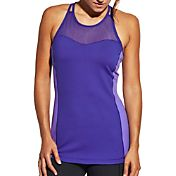 CALIA by Carrie Underwood Women's Strap Back Double Layer Tank Top
