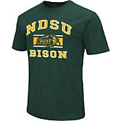 Colosseum Athletics Men's North Dakota State Bison Green Dual Blend T-Shirt