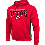 Colosseum Athletics Men's Utah Utes Red Defend Pullover Fleece Hoodie
