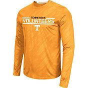 Colosseum Athletics Men's Tennessee Volunteers Tennessee Orange Sleet Long Sleeve Performance Shirt
