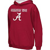 Colosseum Athletics Boys' Alabama Crimson Tide Crimson Poly Fleece Hoodie