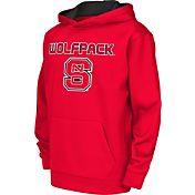 Colosseum Athletics Youth NC State Wolfpack Red Performance Hoodie