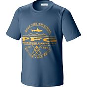 Columbia Youth PFG Sportsman Shark Graphic T-Shirt