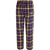 Concepts Sport Men's LSU Tigers Purple/Gold Ultimate Plaid Sleep Pants