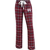 Concepts Sport Women's Mississippi State Bulldogs Maroon/Black Captivate Plaid Sleep Pants