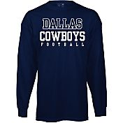 Dallas Cowboys Merchandising Youth Practice Navy Long Sleeve Shirt