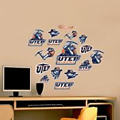 Fathead UTEP Miners Team Logo Assortment Wall Decals