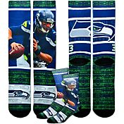 Seattle Seahawks Russell Wilson Rush Socks