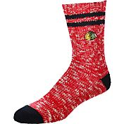 For Bare Feet Chicago Blackhawks Alpine Socks