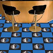 FANMATS Dallas Mavericks Carpet Tiles