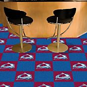 FANMATS Colorado Avalanche Carpet Tiles