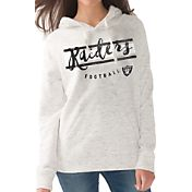 G-III for Her Women's Oakland Raiders Terry Pullover Hoodie