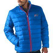 G-III Men's Buffalo Bills Sky Box Full-Zip Blue Packable Jacket