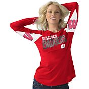 Hands High Women's Wisconsin Badgers Red Handoff Long Sleeve Shirt