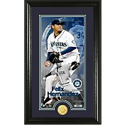 Highland Mint Seattle Mariners Felix Hernandez Supreme Bronze Coin Photo Mint