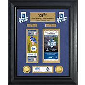Highland Mint Kansas City Royals World Series Deluxe Gold Coin & Ticket Collection