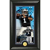 The Highland Mint Carolina Panthers Cam Newton Framed 'Supreme' Bronze Coin Photo Mint