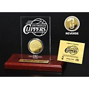 The Highland Mint Los Angeles Clippers Gold Coin Etched Acrylic