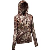 Huntworth Women's Performance Fleece Camo Hoodie