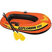 Intex Explorer 200 Inflatable Boat Set