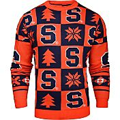 KLEW Men's Syracuse Orange Blue Ugly Sweater
